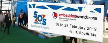 SOS Electronic estará en la Embedded World 2019